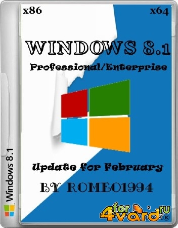 Windows 8.1 Professional/Enterprise Update for February 17.02.14 by Romeo1994 (x86/x64/RUS/2014)