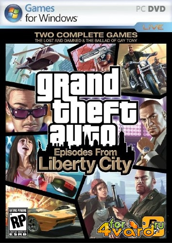 Grand Theft Auto IV:Episodes From Liberty City v 1.1.2.0 (2010/Multi5/RUS) Repack by JohnMc