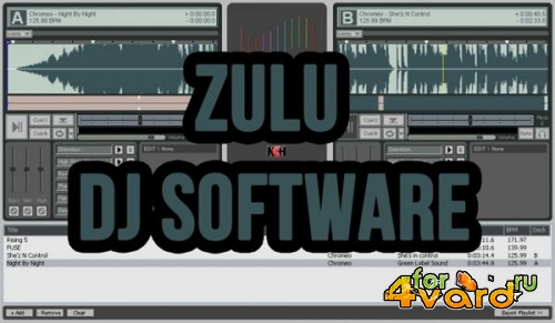 Zulu DJ Mixing Software Master Edition 3.20