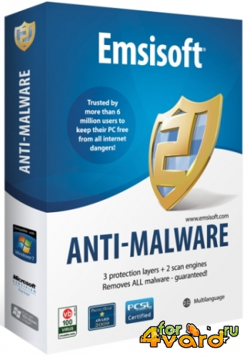 Emsisoft Anti Malware 8.1.0.40 2014 (RU/ML)
