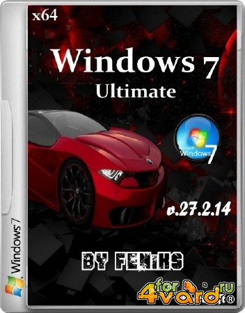 Windows 7 x64 Ultimate by Feniks v.27.2.14 (2014/RUS)