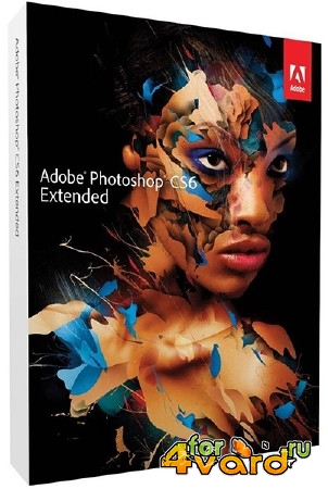 Adobe Photoshop CS6 v.13.0.1.3 Extended Update 4 by m0nkrus (RUS/ENG)