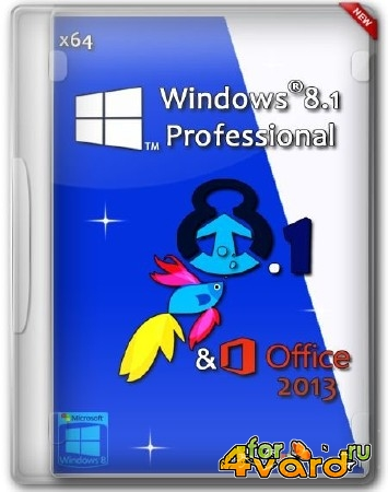 Windows 8.1 x64 Professional & Office 2013 by You NexT (RUS/2014)