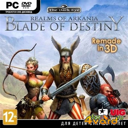 Realms of Arkania: Blade of Destiny (2013/ENG/PC) RePack by R.G.Механики