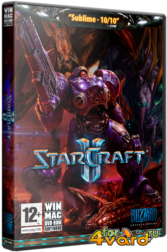 StarCraft 2: Wings of Liberty + Heart of the Swarm (2013/RUS/PC) RePack от z10yded