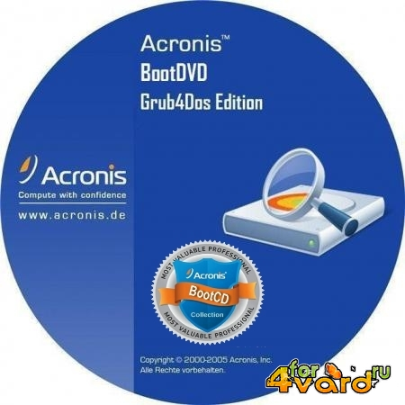 Acronis BootDVD 2014 Grub4Dos Edition v.17 13in1 (RUS/2014)