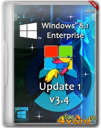 Windows 8.1 Enterprise Update 1 x64 by D1mka v3.4 (RUS/2014)