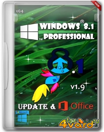 Windows 8.1 Professional x64 Update & Office 2013 BeaStyle v.1.9 (2014/RUS)