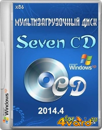 Windows XP SP3 Seven СD 2014.4 (х86/RUS)