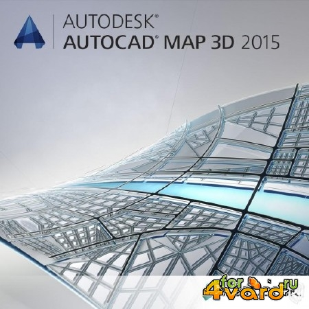 Autodesk AutoCAD Map 3D 2015 (ENG/RUS) ISO-образ