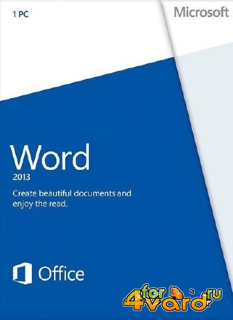 Microsoft Word 2013 SP1 v.15.0.4569.1506 RePacK by D!akov (x86/x64/RUS/ENG/UKR)