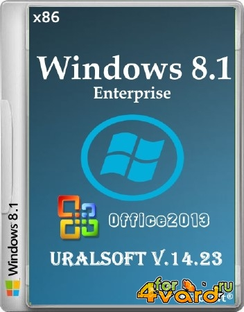 Windows 8.1 x86 Enterprise & Office2013 UralSOFT v.14.23 (2014/RUS)