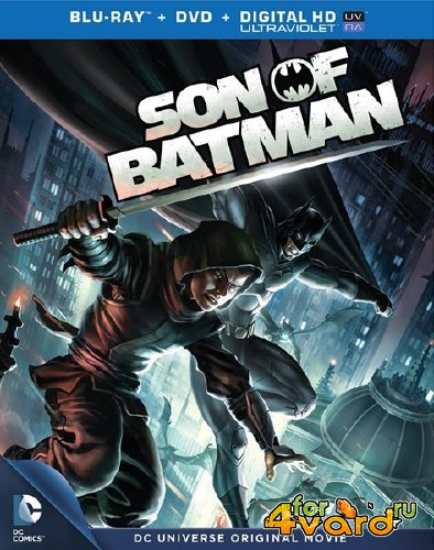 Сын Бэтмена / Son of Batman (2014) BDRip 720p/BDRip 1080p/HDRip