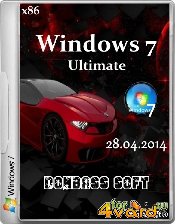 Windows 7 Ultimate SP1 Donbass Soft 28.04.2014 (x86/RUS)