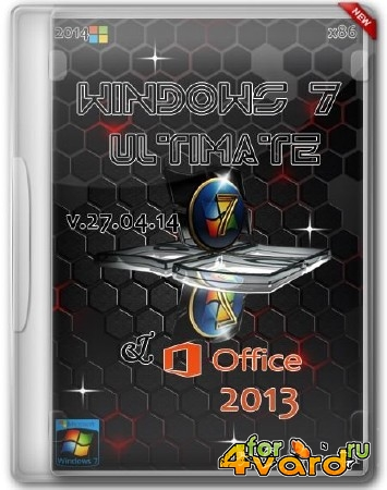 Windows 7 Ultimate & Office 2013 v.27.04.14 by Aleks (RUS/2014)