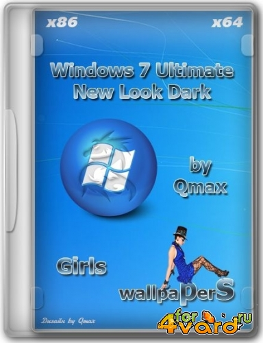 Windows 7 SP1 x86/x64 Ultimate NLDark IE11 2DVD/USB