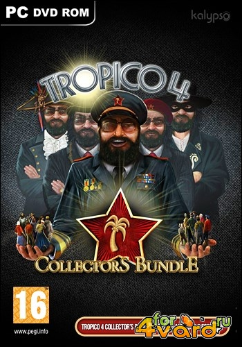Tropico 4 Collectors Bundle  v1.6.345.25459 (2013/Rus/Eng/PC) Repack от R.G. ILITA