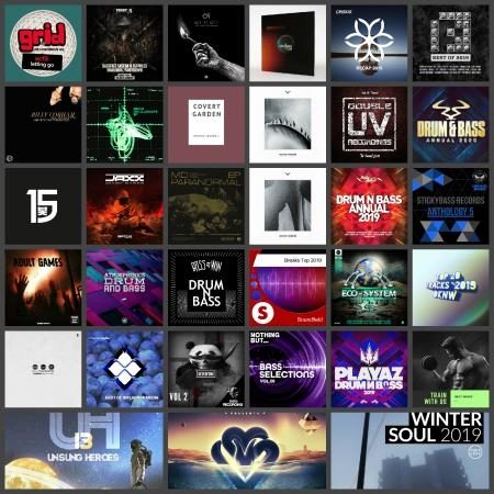 Drum & Bass Music Collection Pack 015 (2020)