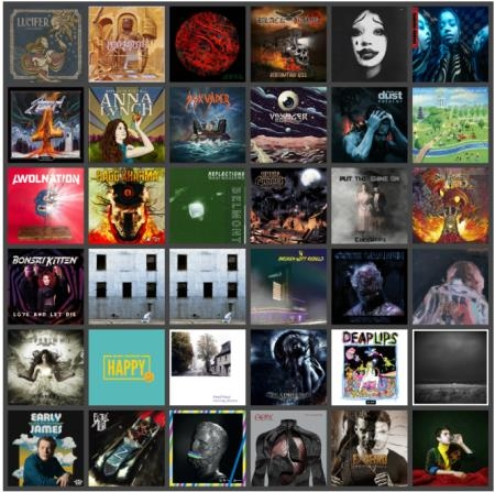 Rock & Metal Music Collection Pack 092 (2020)